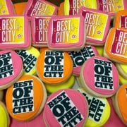 Best of the City Logo Cookies Cincinnati