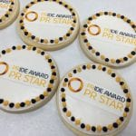 Pride Award PR Star Logo Cookies