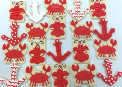Crabs and Anchors Cookies