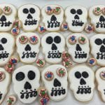 Skull and Eyeball Cookies