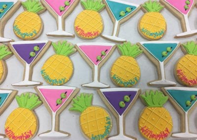 Pineapple and Martini Cookies