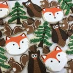 Woodland Animal Cookies