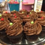 Death by Chocolate Christmas Cupcakes