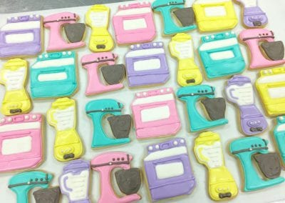 Pastel Kitchen Equipment Cookies