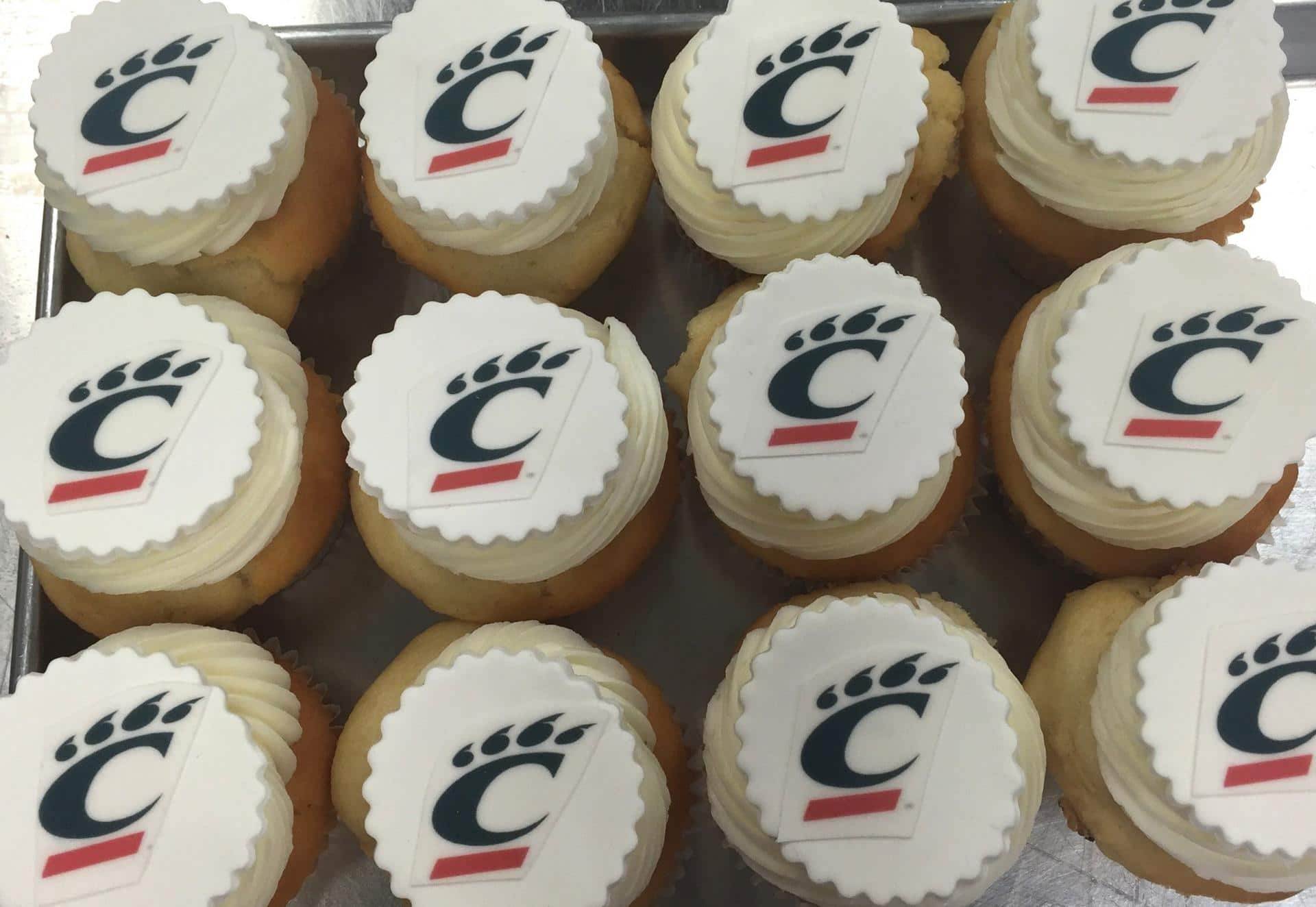 Cupcakes For University Of Cincinnati