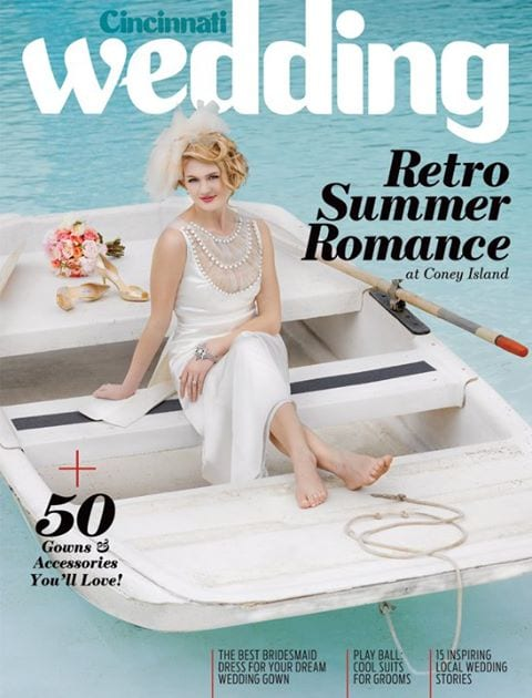 cincinnati wedding magazine cover