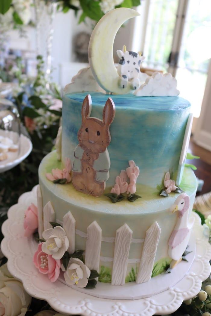 2 Tier Nursery Rhyme Cake | 3 Sweet Girls Cakery