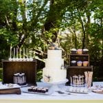 Wedding Dessert Table by 3 Sweet Girls Cakery