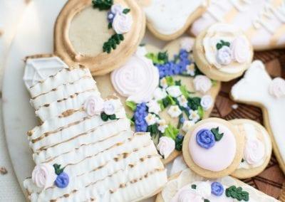 Wedding Cookies | 3 Sweet Girls Cakery