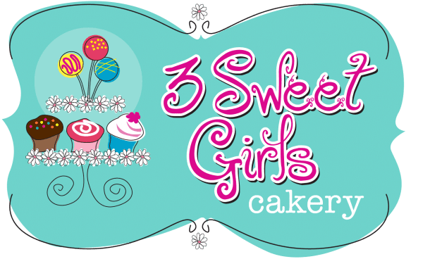 3 Sweet Girls Cakery Logo | 3 Sweet Girls Cakery