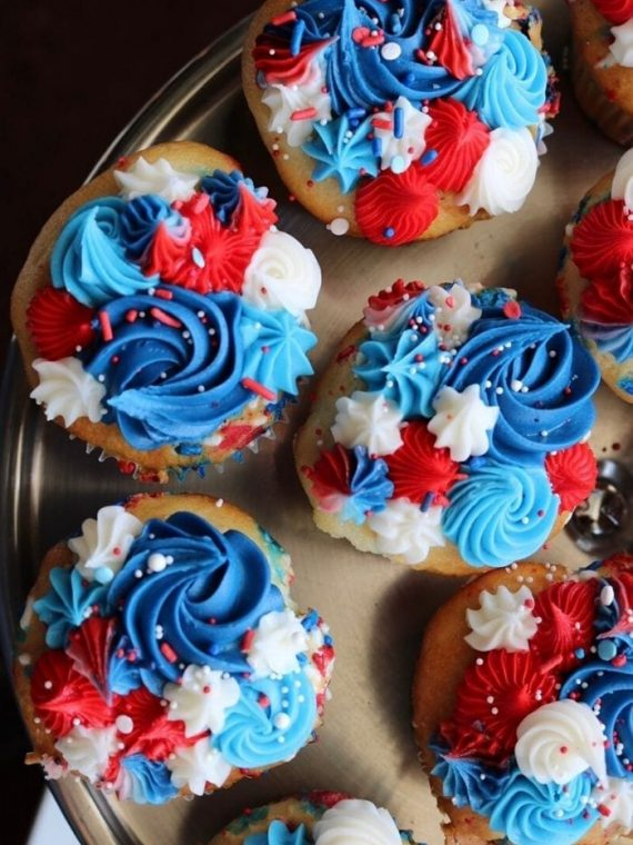 4th of July Cupcakes | 3 Sweet Girls Cakery