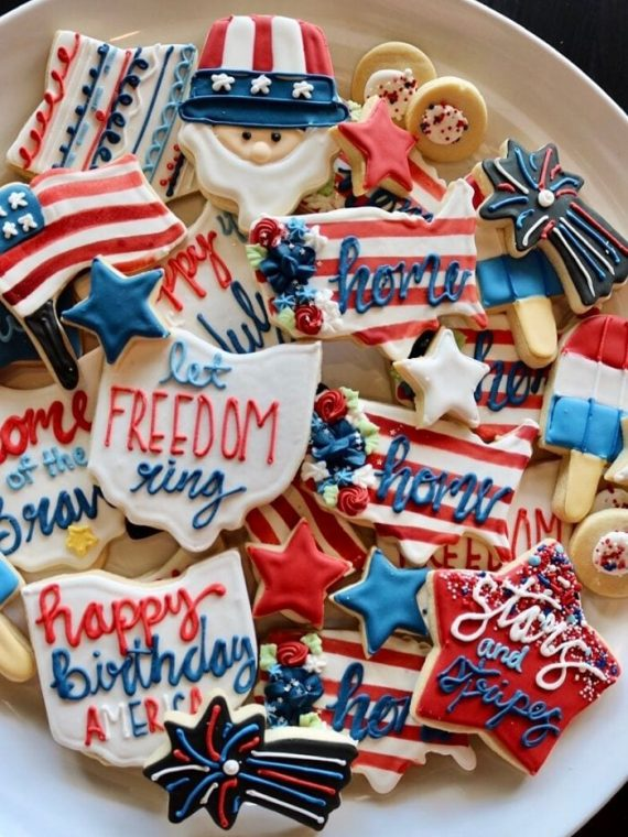 4th of July Cookies | 3 Sweet Girls Cakery