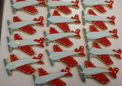Airplane Cookies | 3 Sweet Girls Cakery