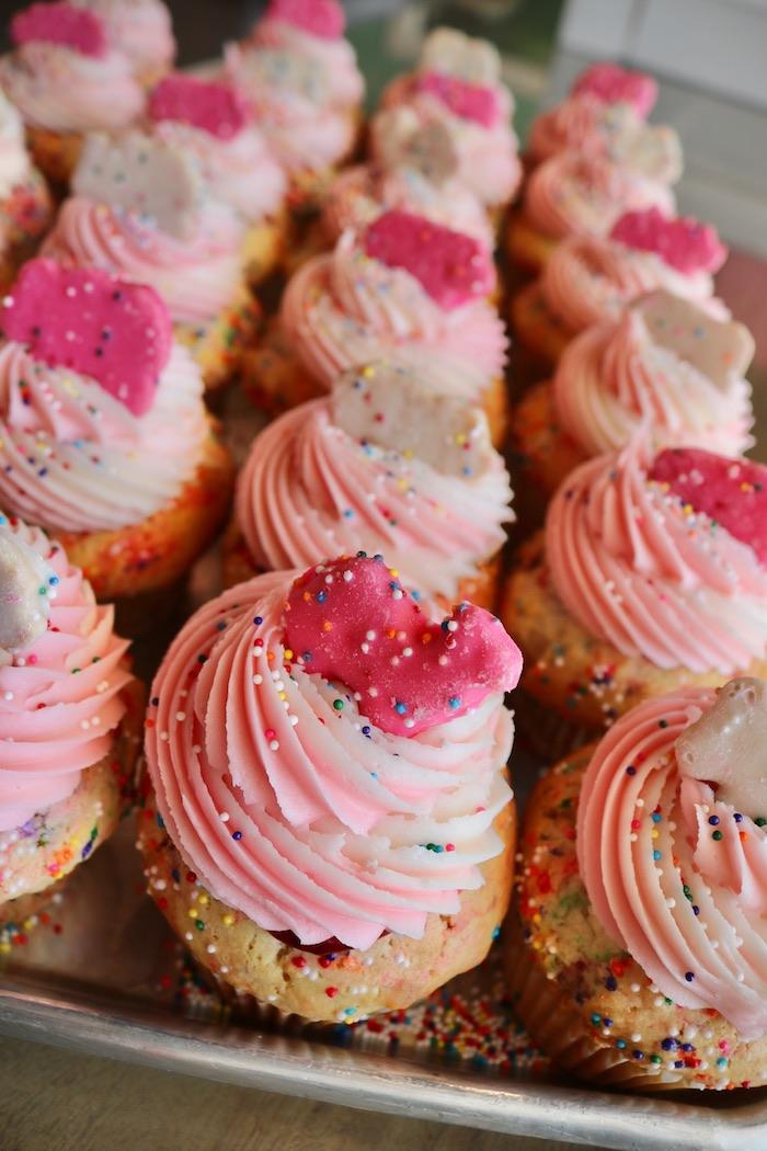 Animal Cookie Cupcakes | 3 Sweet Girls Cakery