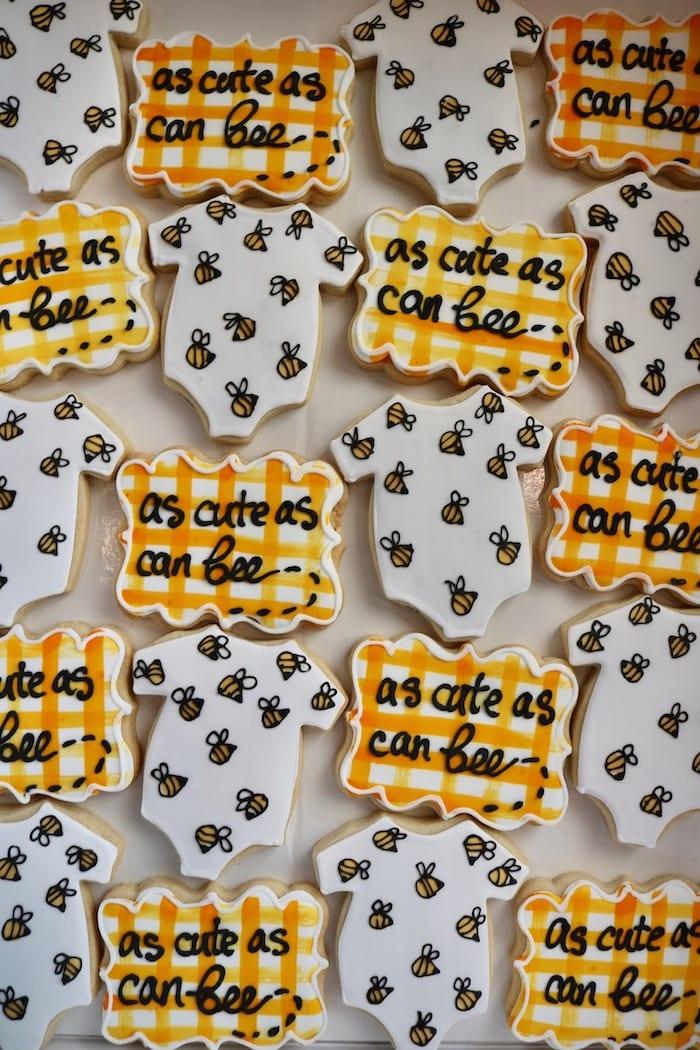As Cute as Can Bee Cookies | 3 Sweet Girls Cakery