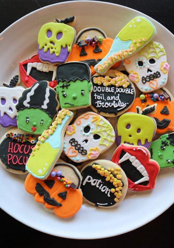 Assorted Halloween Cookies | 3 Sweet Girls Cakery