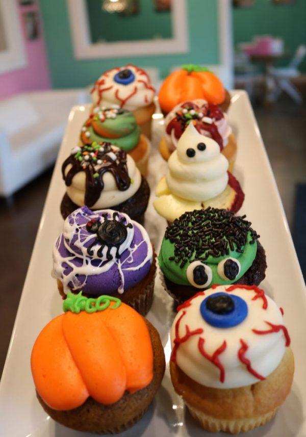 Assorted Halloween Cupcakes | 3 Sweet Girls Cakery