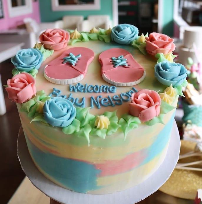 Baby Shower Cake | 3 Sweet Girls Cakery