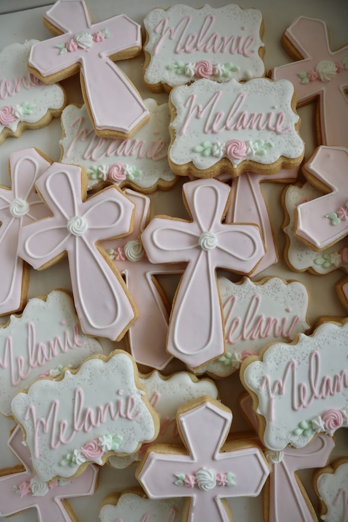 Baptism or Christening Cookies   3 Sweet Girls Cakery