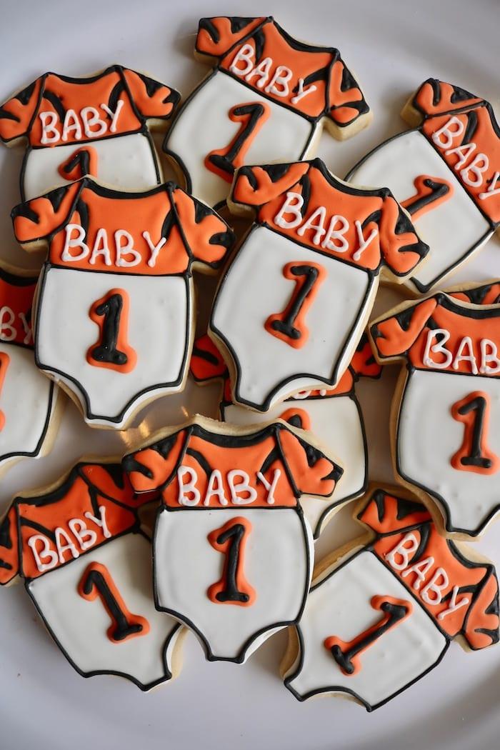Bengals Baby Onesies | 3 Sweet Girls Cakery