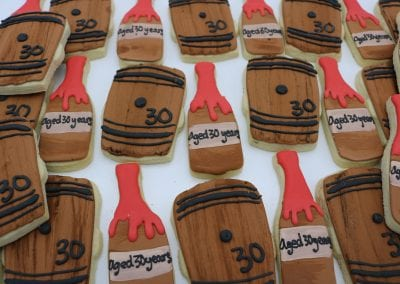 Bourbon Barrel Cookies Aged 30 Years| 3 Sweet Girls Cakery