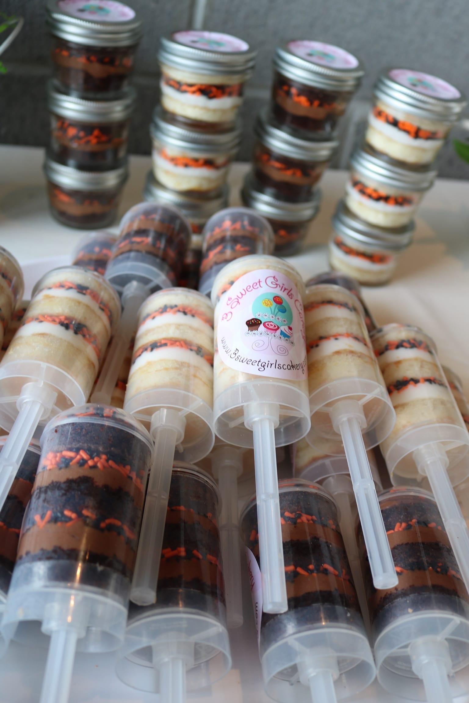 Cake Push Ups and Cupcake in a Jar | 3 Sweet Girls Cakery