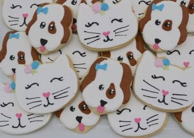 Cat and Dog Cookies | 3 Sweet Girls Cakery