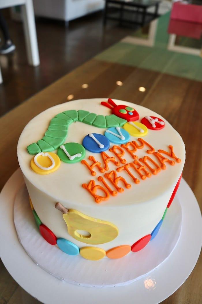 Caterpillar Birthday Cake | 3 Sweet Girls Cakery