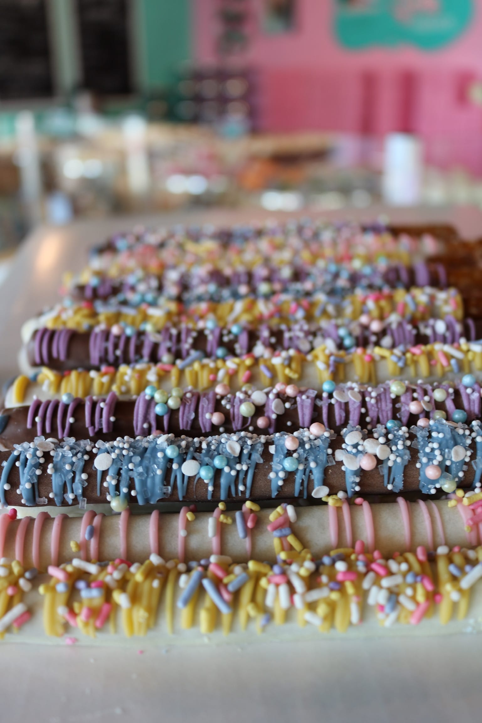 Chocolate Dipped Pretzels   3 Sweet Girls Cakery