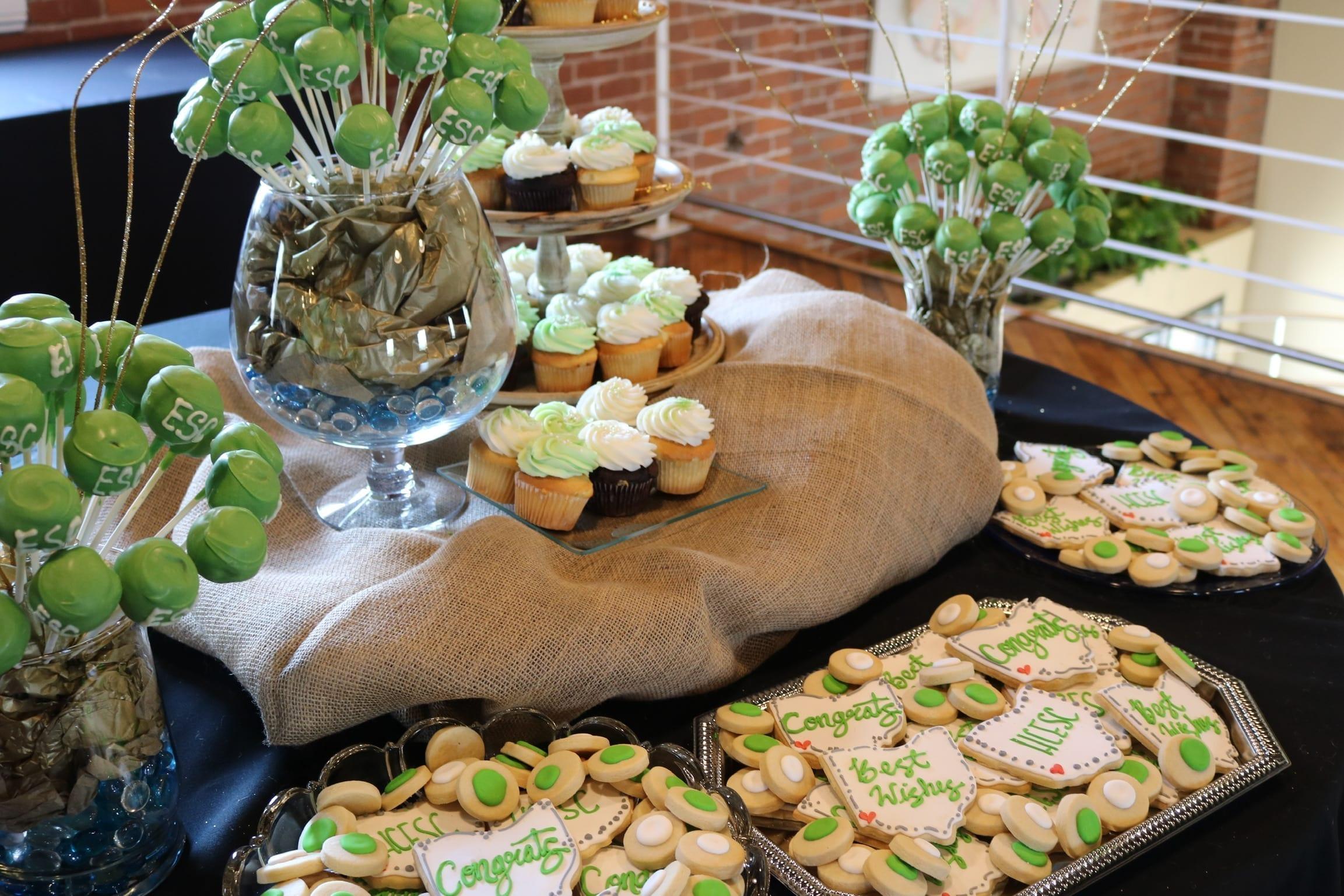 Corporate Dessert Table   3 Sweet Girls Cakery