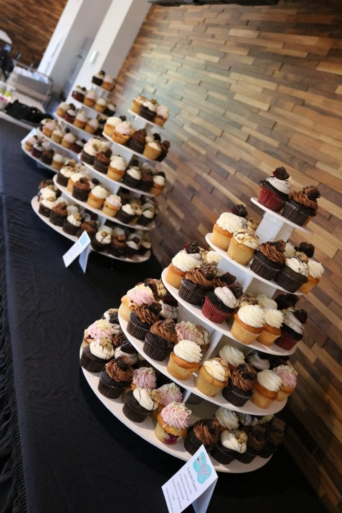 Cupcake Towers for Corporate Event | 3 Sweet Girls Cakery