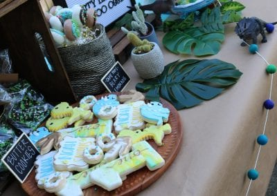 DInosaur Birthday Cake Dessert Table | 3 Sweet Girls Cakery