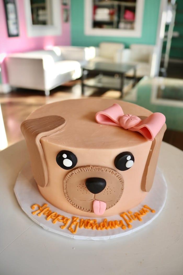 Dog Birthday Cake | 3 Sweet Girls Cakery
