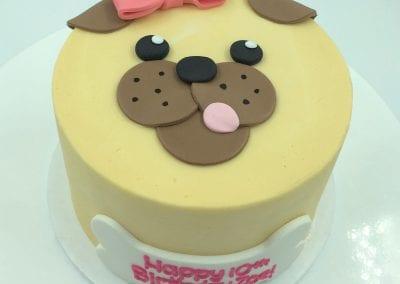 Dog Face Cake | 3 Sweet Girls Cakery