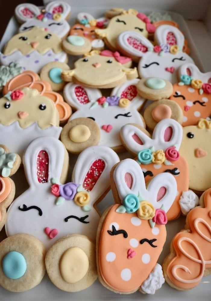 Easter Cookies | 3 Sweet Girls Cakery