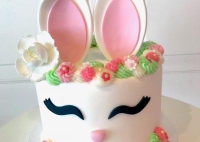 Easter Bunny Cake | 3 Sweet Girls Cakery