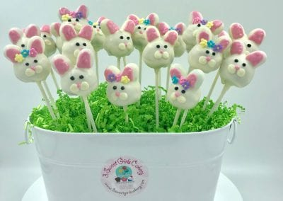 Easter Bunny Cake Pops | 3 Sweet Girls Cakery