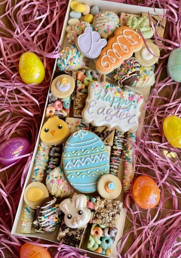 Easter Dessert Charcuterie | 3 Sweet Girls Cakery
