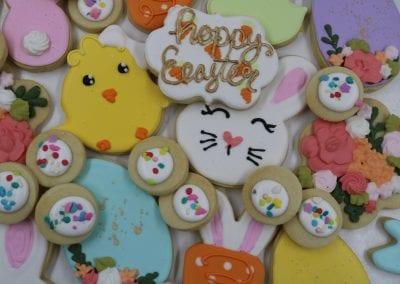 Festive Easter Cookies | 3 Sweet Girls Cakery