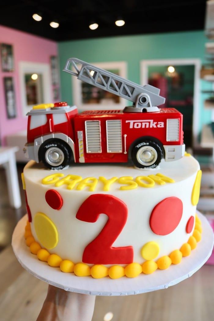 Firetruck Birthday Cake | 3 Sweet Girls Cakery