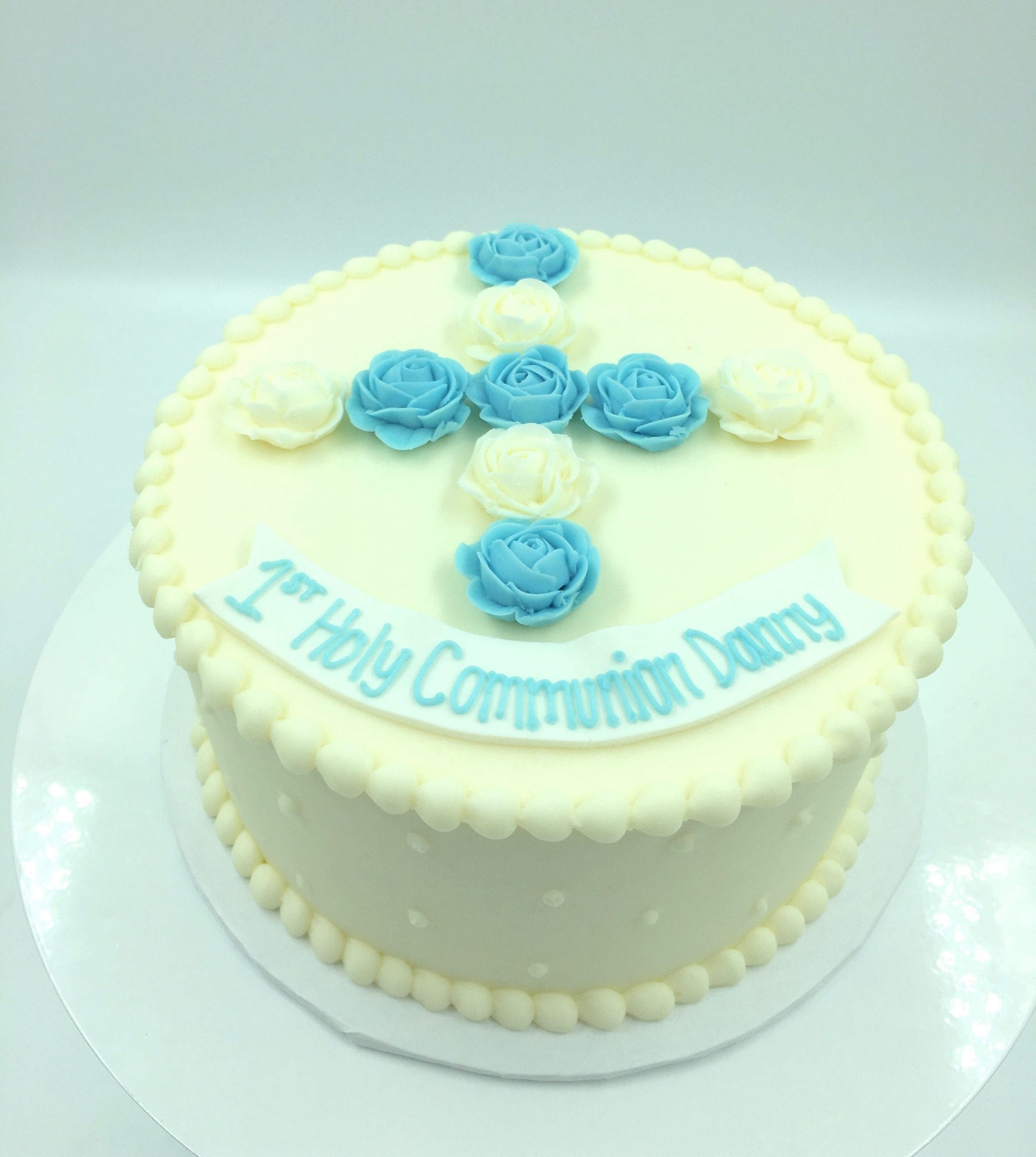 First Holy Communion Cake | 3 Sweet Girls Cakery