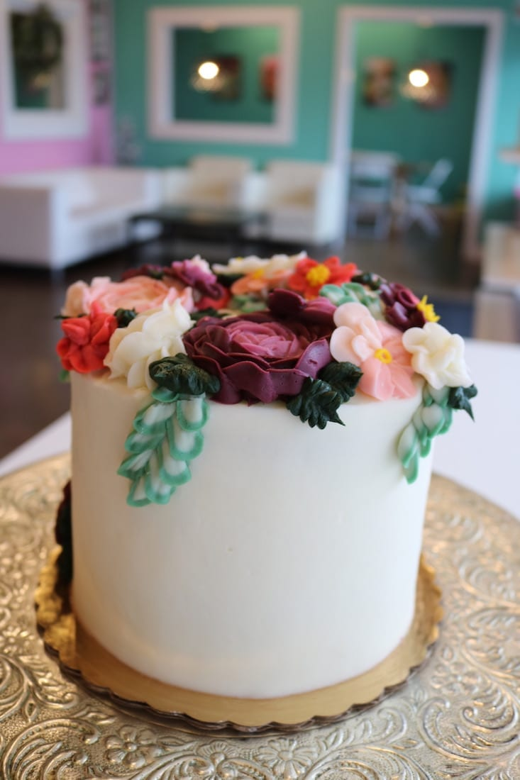 Floral Buttercream Cake | 3 Sweet Girls Cakery