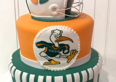 Football Theme Groom's Cake | 3 Sweet Girls Cakery