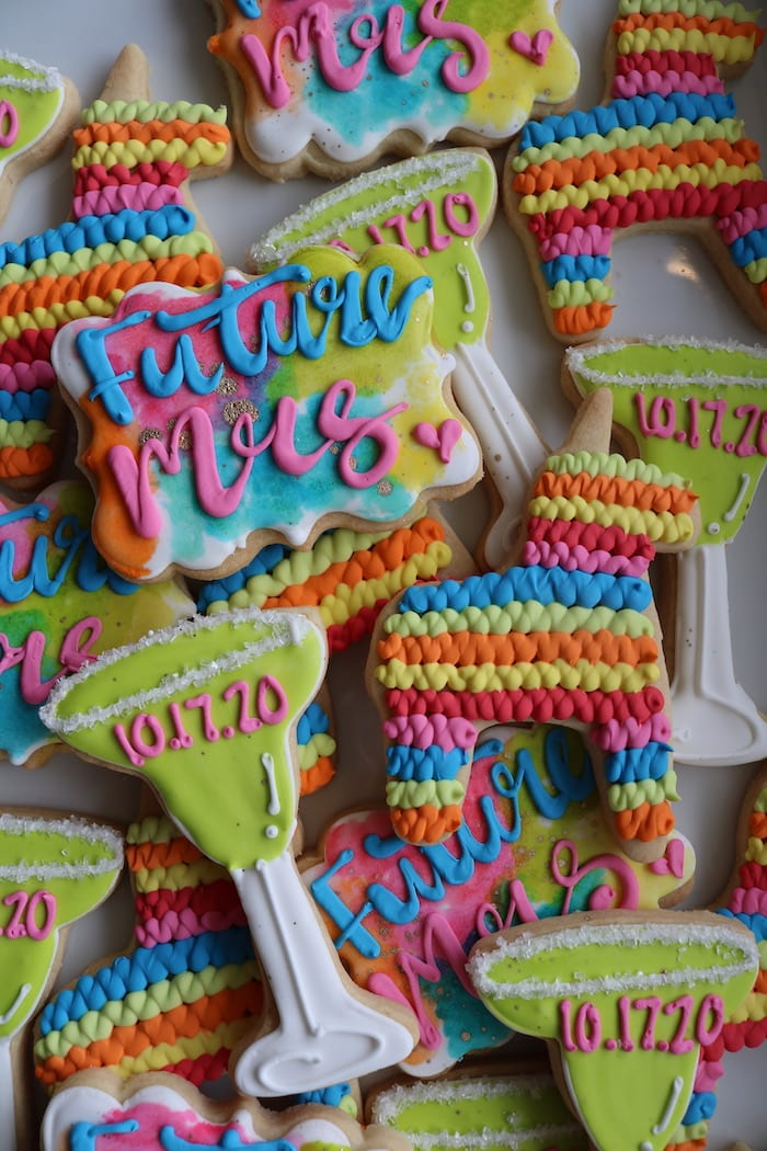 Future Mrs Fiesta Cookies | 3 Sweet Girls Cakery