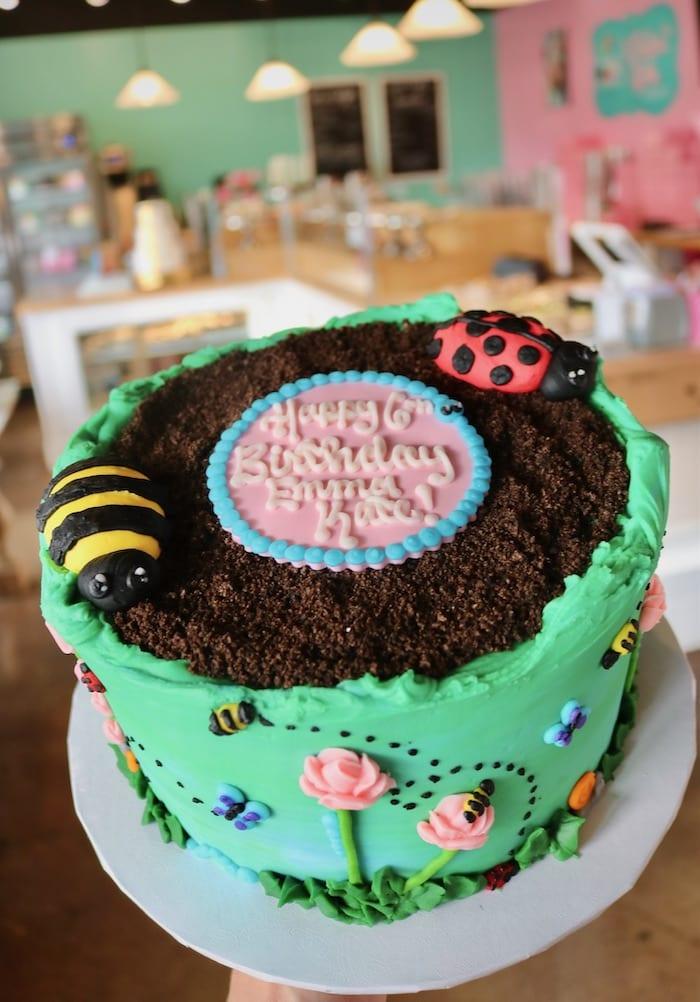 Garden Cake | 3 Sweet Girls Cakery