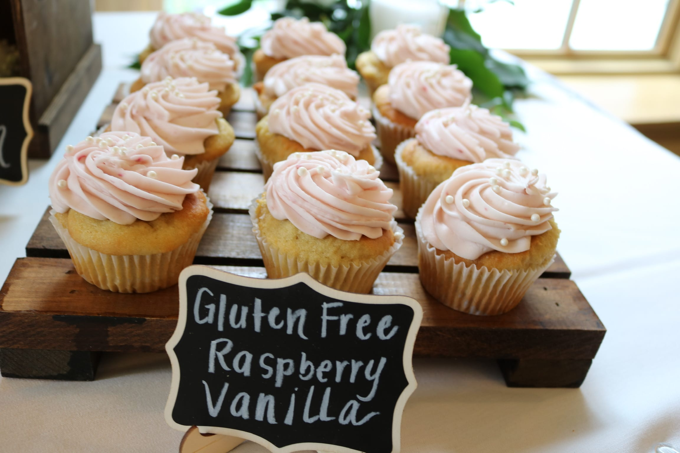 Gluten Free Raspberry Cupcakes | 3 Sweet Girls Cakery