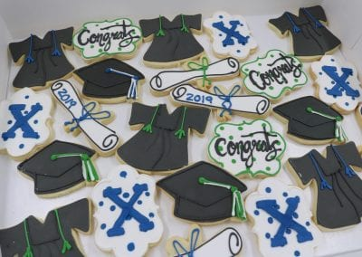 Graduation Cookies | 3 Sweet Girls Cakery