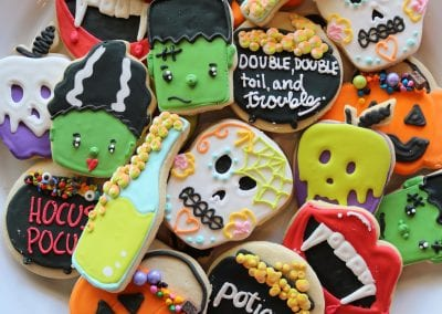 Halloween Cookie Assortment   3 Sweet Girls Cakery