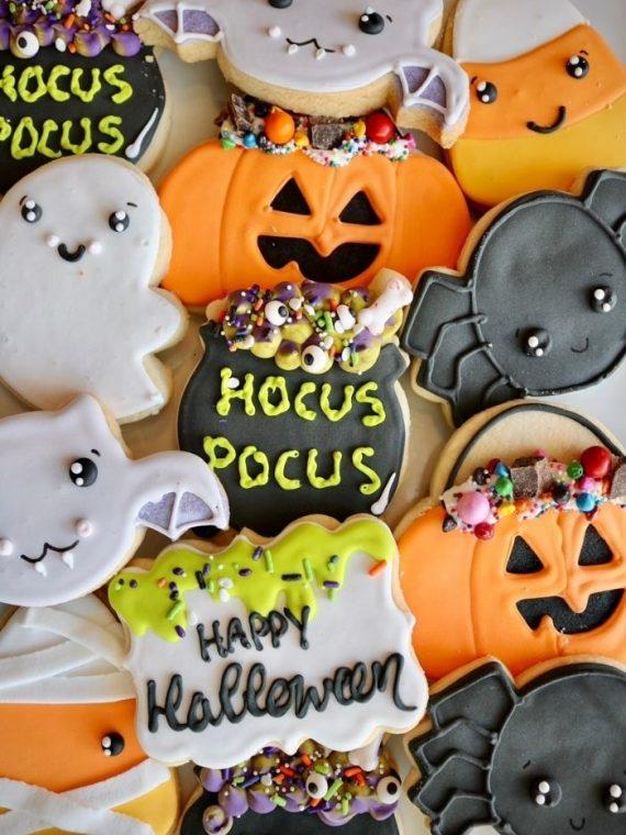 Halloween Cookies | 3 Sweet Girls Cakery