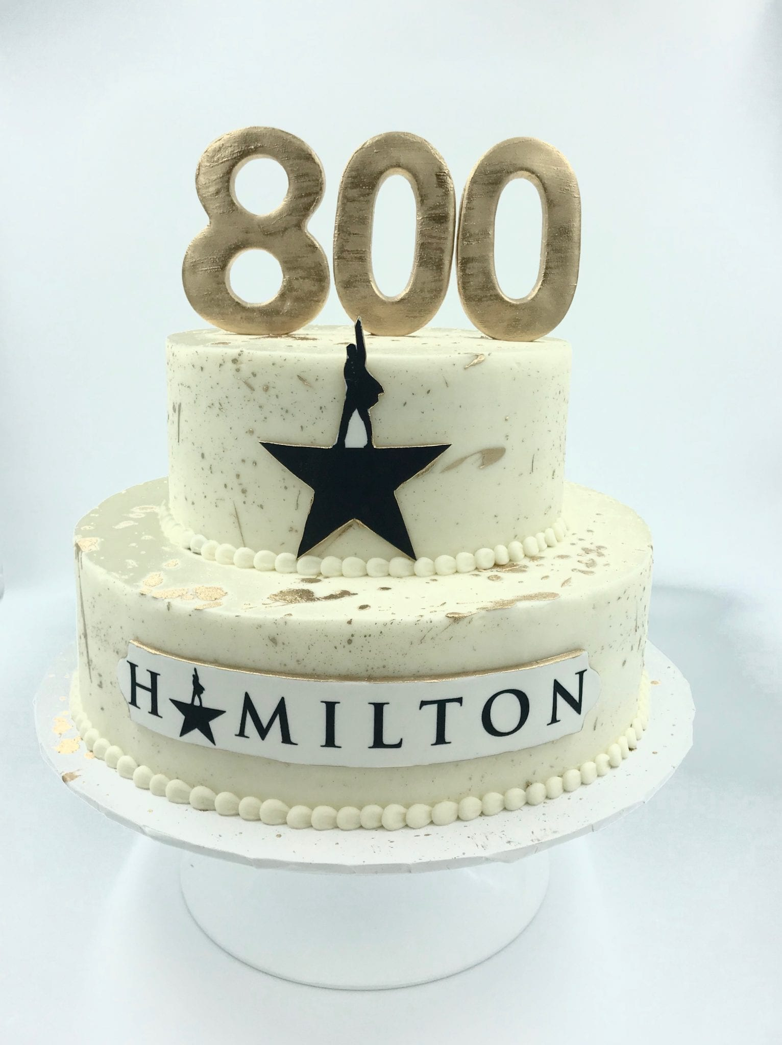 Hamilton Cake | 3 Sweet Girls Cakery